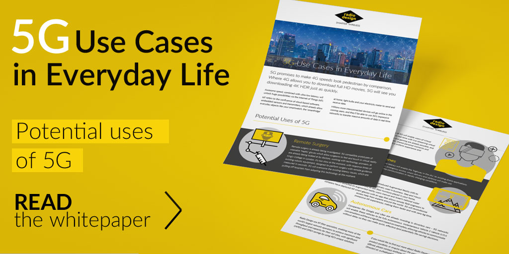 White Paper - 5G Use Cases in Everyday Life | Radio Design